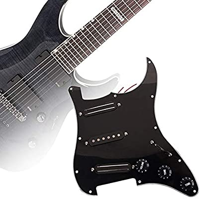 HshDUti SSS - Pastilla de 3 capas para guitarra eléctrica de 11 ...