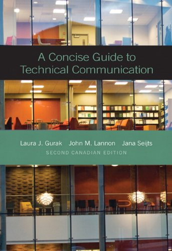 A Concise Guide to Technical Communication, Second Canadian Edition with MyCanadianTechCommLab