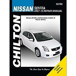 nissan sentra chilton haynes publishing 9781620921241 amazon rh amazon com 2006 Nissan Sentra Parts Diagram 2006 Nissan Sentra Dashboard
