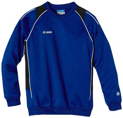 Jako Kinder Sweatshirt Sweat Attack 2.0, Royal/Schwarz, 152, 8672-04