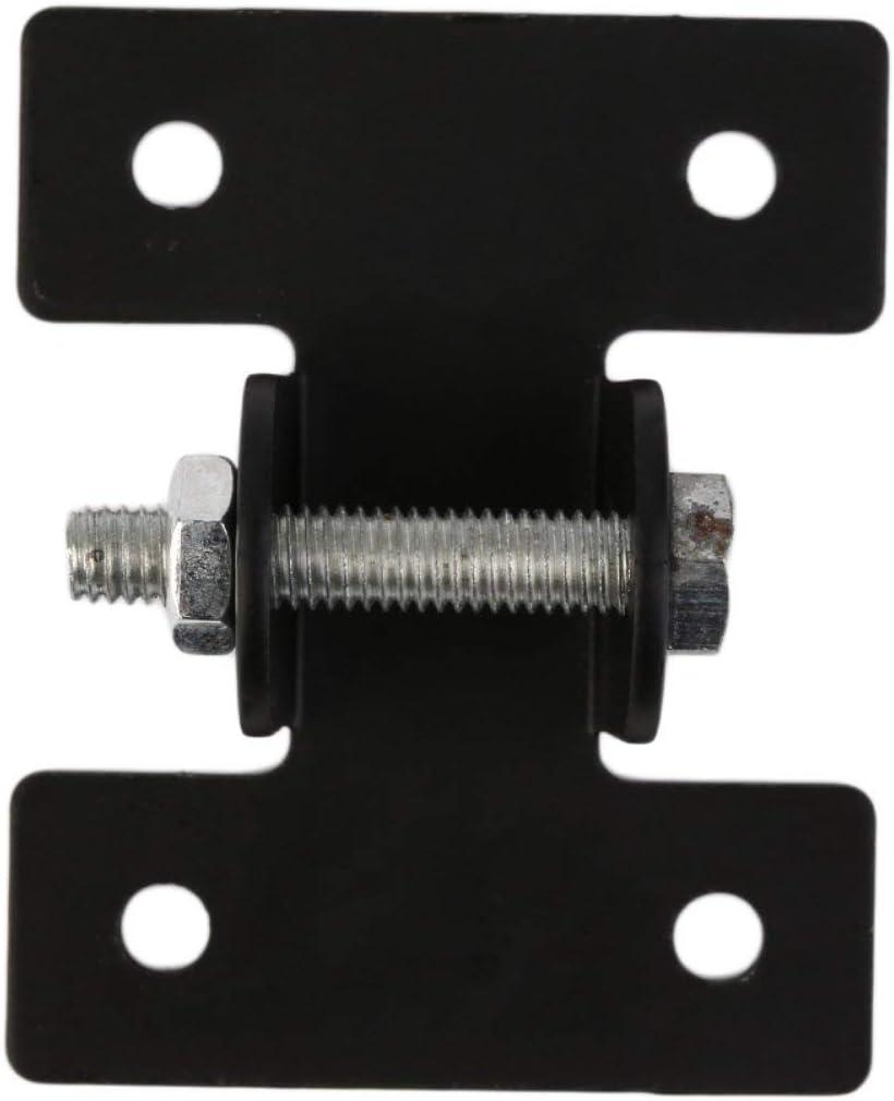 EdBerk74 Metal Negro Soportes de Montaje Varilla telescópica de Enlace para Motores actuadores lineales de Servicio Pesado DC12V / 24V
