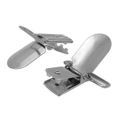 Amazon.com: 20 piezas 1 1/4 de pulgada clip de metal ...