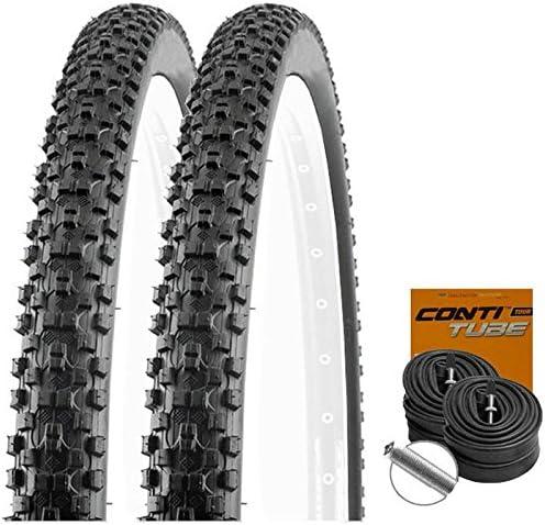 Set: 2 x 29 x 2.10 de neumáticos de bicicleta Kenda Kadre/54-622 + ...