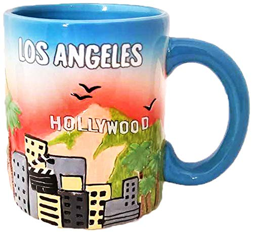 (American Cities and States of 11 oz Coffee Mugs (Los)