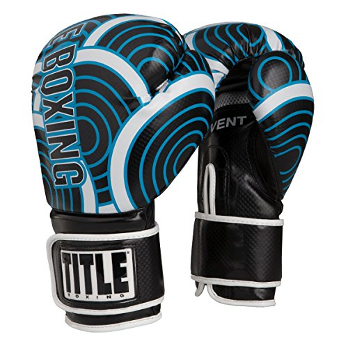 TITLE Infused Foam Engage Boxing Gloves (Blue, (Title Boxing Foam Boxing Gloves)