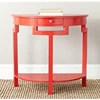 Safavieh American Homes Collection Liana Hot Red Console Table