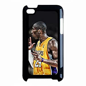 Cute Anime Kobe Bryant Phone Case Cover For Ipod Touch 4 Black Hard Case AIR50
