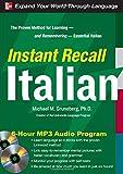 Instant Recall Italian, 6-Hour MP3 Audio Program