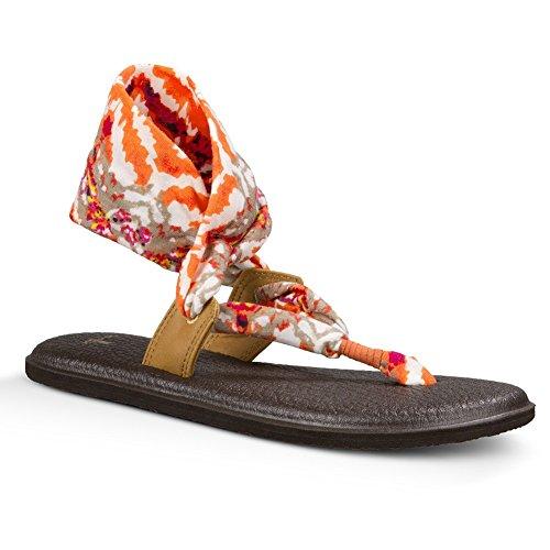 nbsp;Black nbsp;6 slinglet White Sandals Yoga Women's Prints Ikat nbsp;– Women's nbsp;– Sanuk Melon qwg0xvW