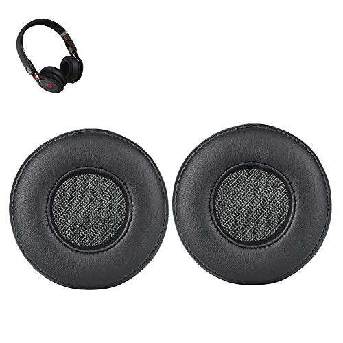 SINDERY Mixr Earpads Replacement Earpads Ear Cushion Headband for Beats Mixr On-Ear Headphone (Earpad-Black)
