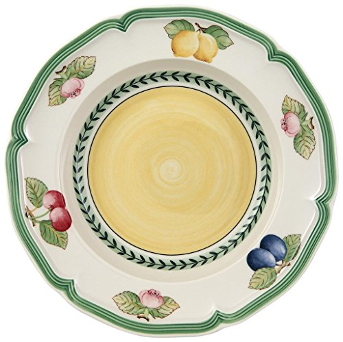 Garden Rim Soup Bowl - Villeroy & Boch French Garden Fleurence Rim Soup Bowl