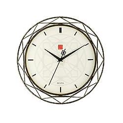 Frank Lloyd Wright Luxfer Prism 14 Wall Clock - Bulova C4834
