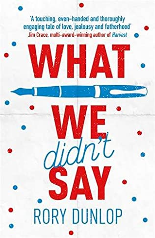 book cover of What We Didn\'t Say