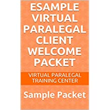 eSample Virtual Paralegal Client Welcome Packet: Sample Packet