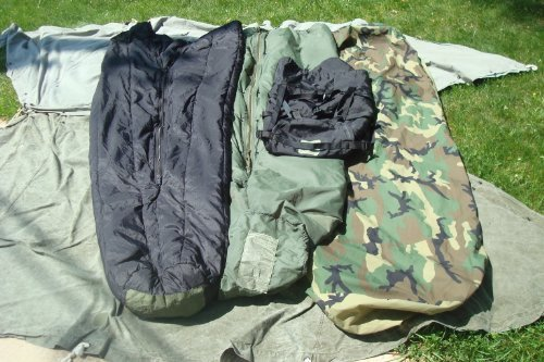 Sport, Fitness, Military Modular Sleep System 4 Piece with Goretex Bivy Cover and Carry Sack Exercise, Shape, Training by SPRT2ALL