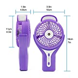 Ehoomely USB handheld Mini Misting Fan Personal