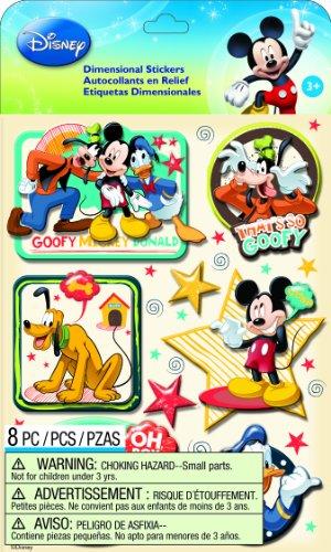 EK Success Disney Dimensional Stickers, Mickey Family Boys Ek Success Disney Mickey Mouse