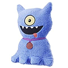 Inspired by the party Animal of our wonderfully weird Uglydolls crew, This feature sounds Ugly dog plush figure knows how to get a bash going! Every moment is worth celebrating so why not give him a squeeze to start playing the fun phrases an...