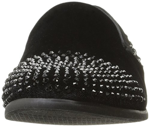 Steve Madden Mens Claquement Slip-on Noir