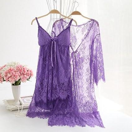WDDGPZSY Camisa De Dormir/Camisón/Ropa De Dormir/Pijamas/Conjunto De Batas