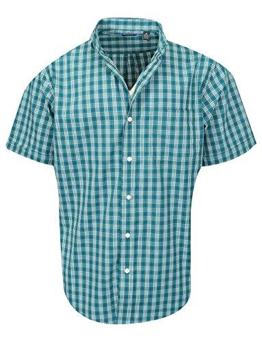 Arrow Mens Short Sleeve Hamilton Poplin Shirt