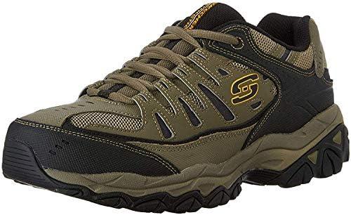 Skechers Men's Afterburn Memory-Foam Lace-up Sneaker 2
