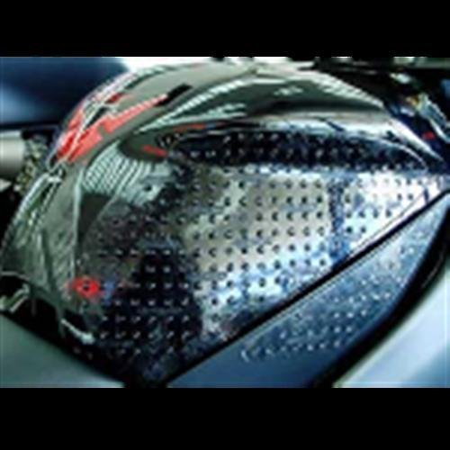 Stompgrip Kawasaki ZX6R 09-14 Traction Pad Tank Kit - Black by ...