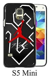 Newest Samsung Galaxy S5 Mini Case ,michael jordan 1 Black Samsung Galaxy S5 Mini Screen Phone Case Popular Fashion And Durable Designed