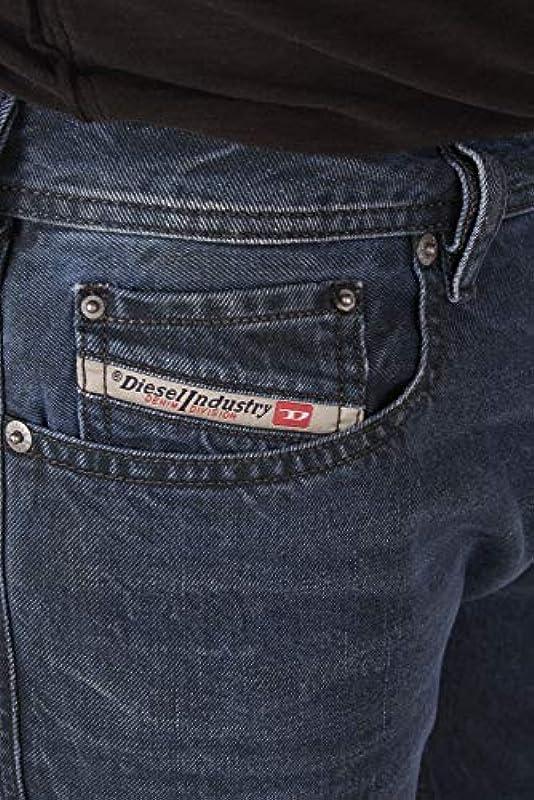 Diesel Zatiny R4E28 męskie spodnie jeansowe Regular Bootcut: Odzież