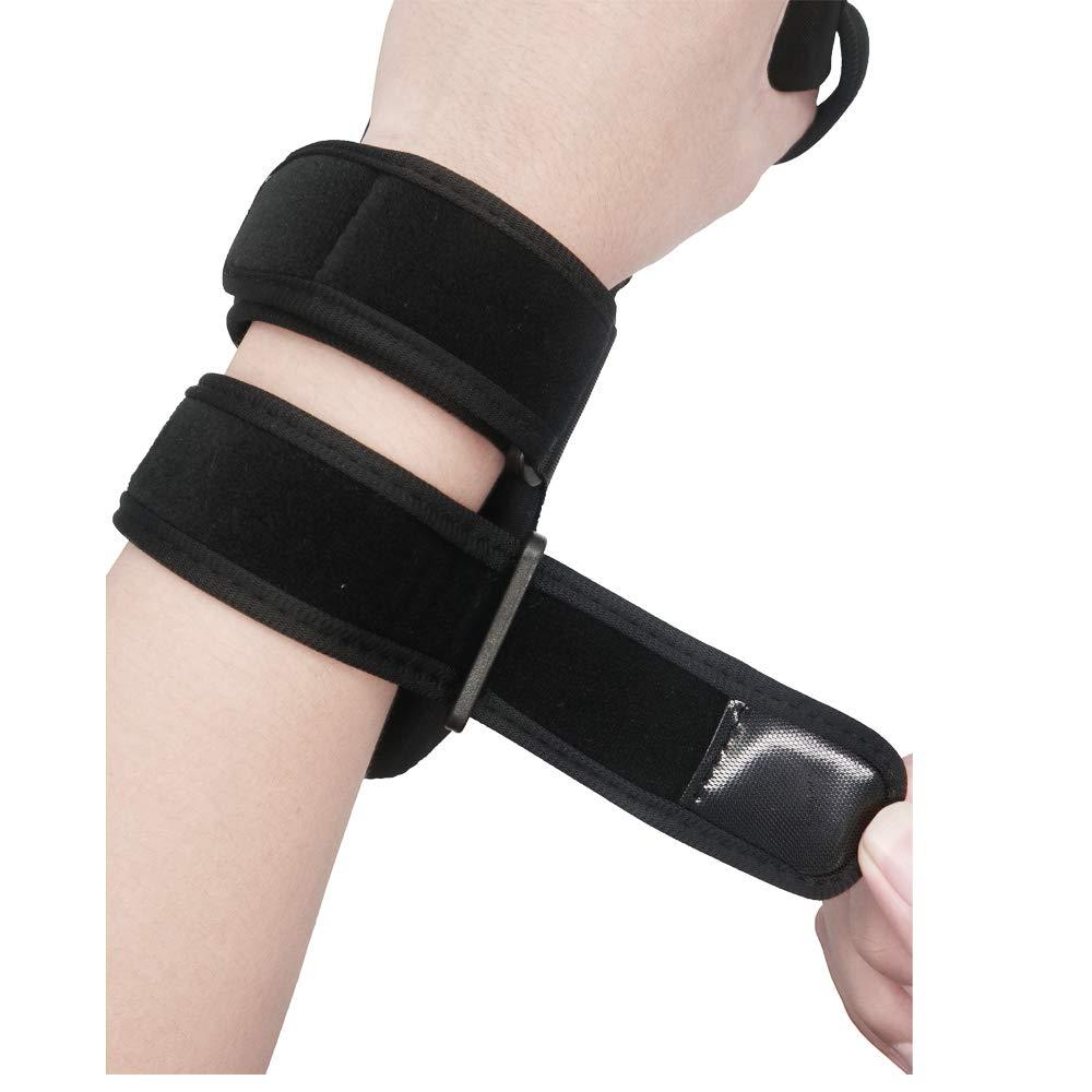 Soft Resting Hand Splint Night Wrist Splint Support Immobilizer Finger Wrist Fracture Fixation Scaffold for Pain Tendinitis Sprain Fracture Arthritis Dislocation (Right) by Furlove (Image #5)