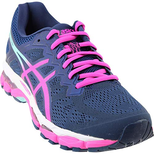 ASICS Gel-Superion Women's Running Shoe, Insignia Blue/Pink Glow/Ice Green, 6.5 M US