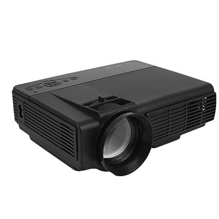 TOPmountain Proiettore Full HD 3D Proiettore Home HD Proiettore Cinematografico Home Cinema Intelligente