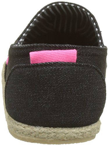 Superdry Women's Jetstream Espadrilles, Blue Black (Black Denim 73v)