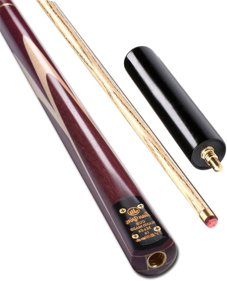Lcrod プールキューアッシュウッド、57インチ手作りポール19オンススヌーカークラブ (Color : D, Size : 11.5mm) D 11.5mm