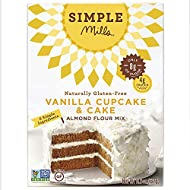 Simple Mills Almond Flour Mix, Vanilla Cupcake & Cake, 11.5 oz (PACKAGING MAY VARY)