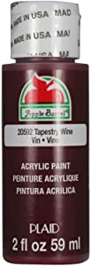 Apple Barrel Acrylic Paint in Assorted Colors (2 Ounce), 20592 Tapestry Wine