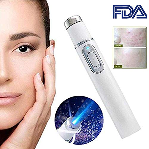 Personal care Cystic Acne Scar Pimple Blemish Pockmark Zit Removal Warming Treatment Machine, BIO Anti-inflammation, Skin repairing Device, Effective for all skin types