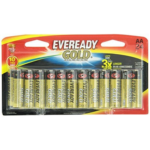 Eveready A91BP24HT Alkaline - 1 Pack of 24