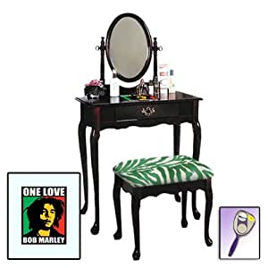 The furniture cove new bob marley themed for Bobs furniture bathroom vanity