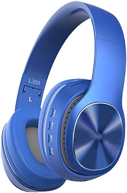 casque gamer bluetooth bleu
