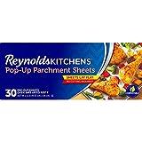 Reynolds Kitchens Pop-Up Pre-Cut Parchment Paper Sheets (Non-Stick, 30 Sheets)