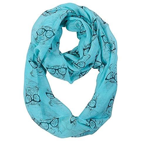 Summer Infinity scarves - Animal print scarf – Eye glasses print - With dog design - Cat design – Ocean creatures/sea shells - Crochet Shell Afghan