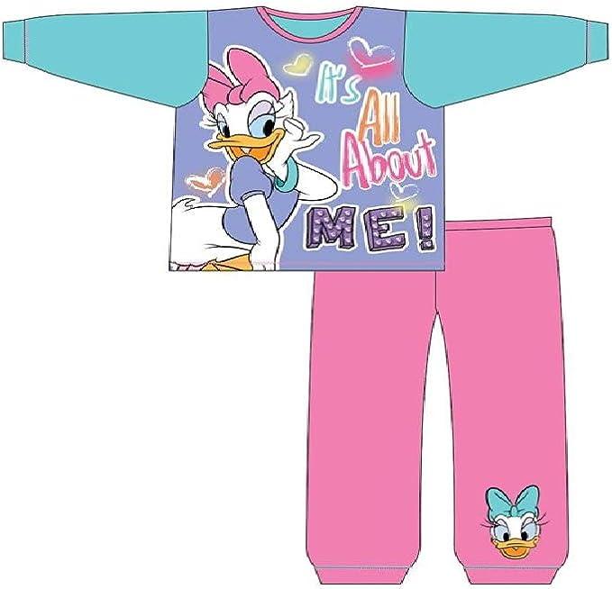 Girls Daisy Duck Long Length Pyjamas
