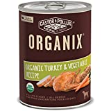 Castor & Pollux Organix Turkey and Vegetables Adult Dog Food, 12.7 Ounce Cans (Pack of 12)