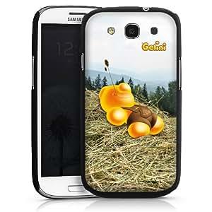 Carcasa Design Funda para Samsung Galaxy S3 i9300 / LTE i9305 HardCase black - Gelini - Heu Nickerchen