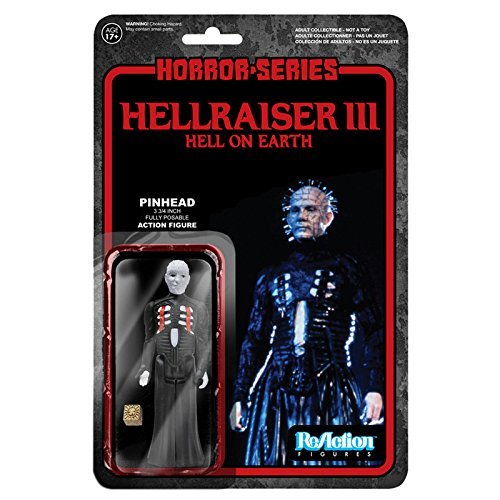 "[Re-action] 3.75 inches Action Figure ""horror"" Series 1 ""Hellraiser 3"" pinhead"
