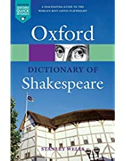 A Dictionary of Shakespeare