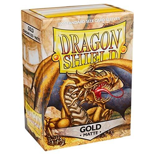 Sleeves: Dragon Shield Matte Gold