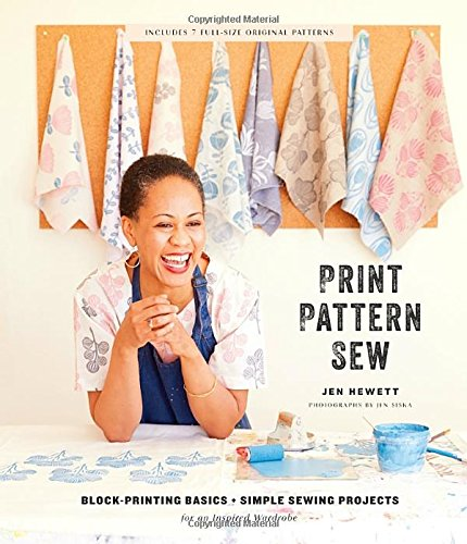 Block-Printing Basics + Simple Sewing Projects for an Inspired Wardrobe (Wardrobe Sewing Pattern)