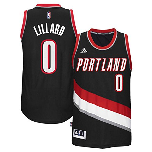 Damian Lillard Portland Trail Blazers #0 NBA Youth New Swingman Road Jersey (Youth Small 8) (Swingman Portland Trailblazers Jersey)